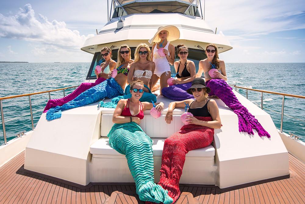 Bachelorette yacht Charters