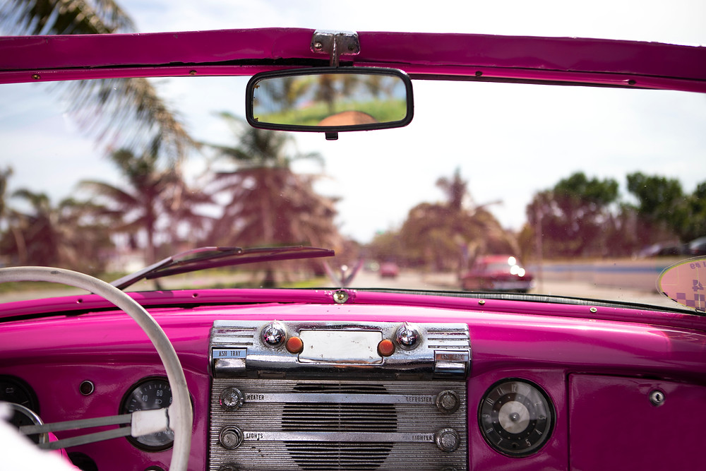 Cuba Taxie Classic Car