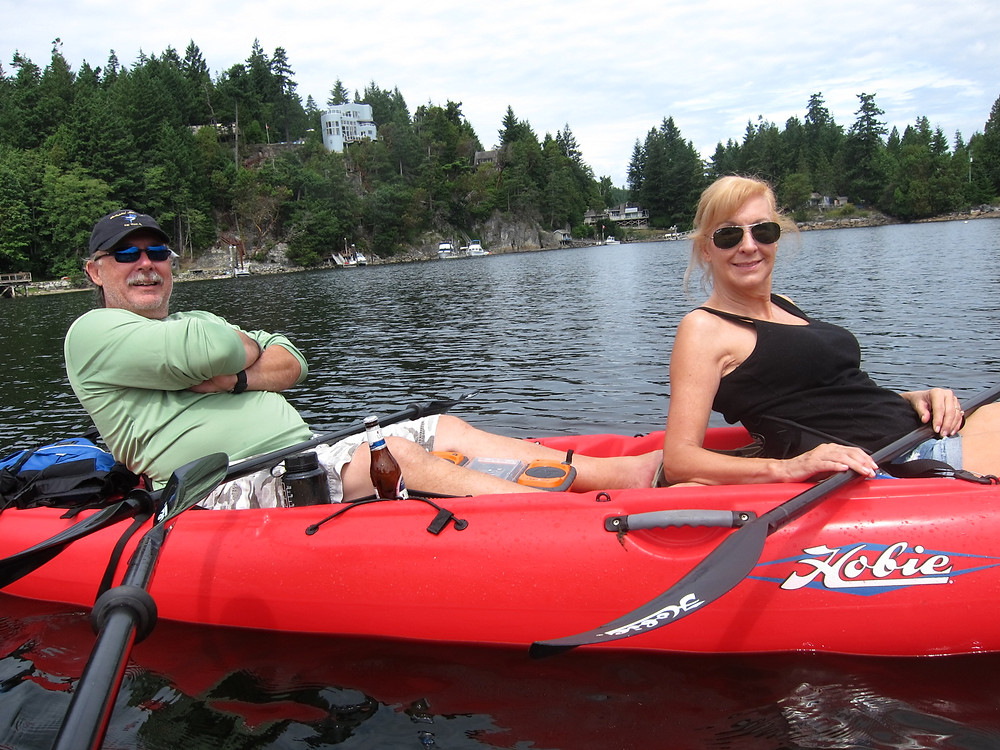 Kayaking Madeira Park BC