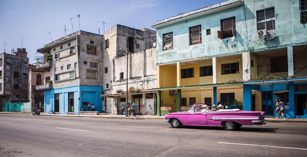 Cuba classic car photography