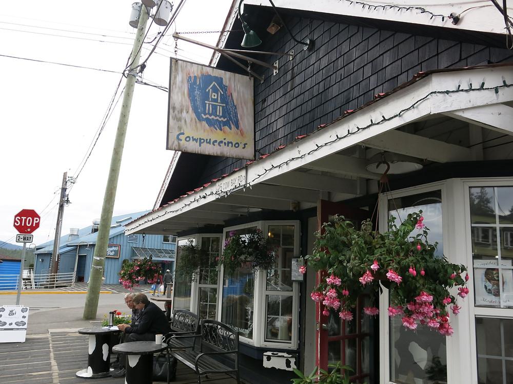 Coffee Shop at Prince Rupert BC