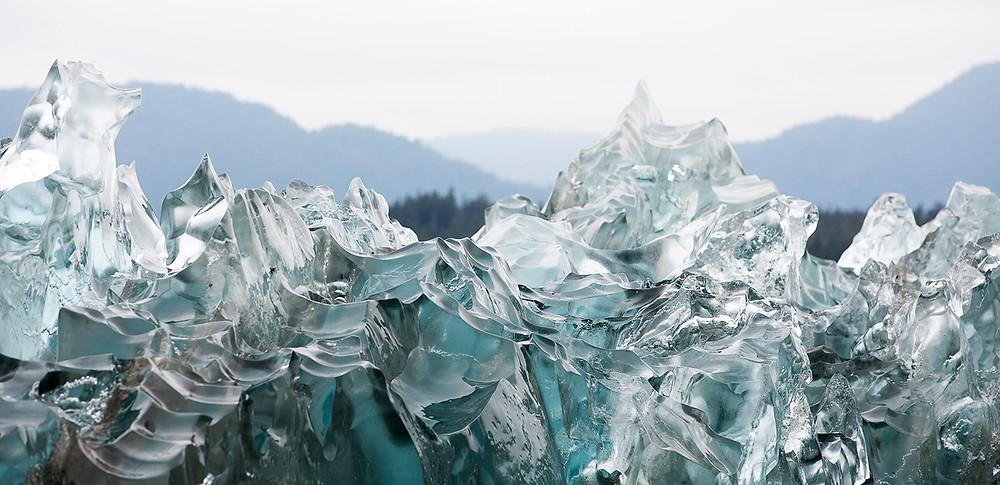 Tracy Arm Fjord Iceberg