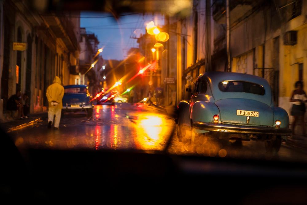 Cuba Street Night Photography