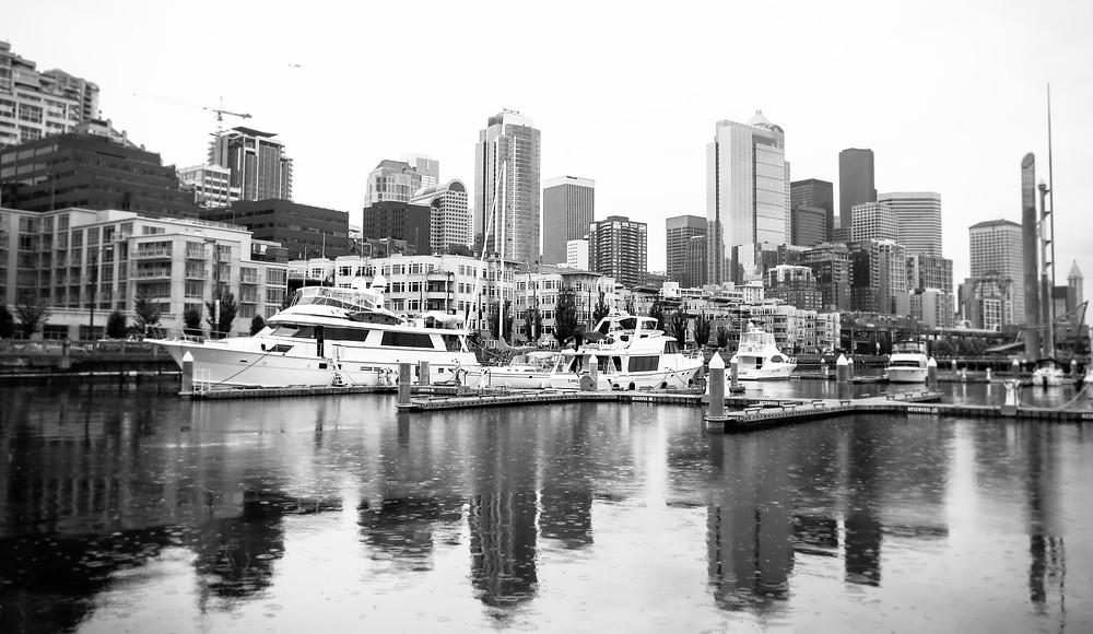 Bell harbor Marina Seattle Washington
