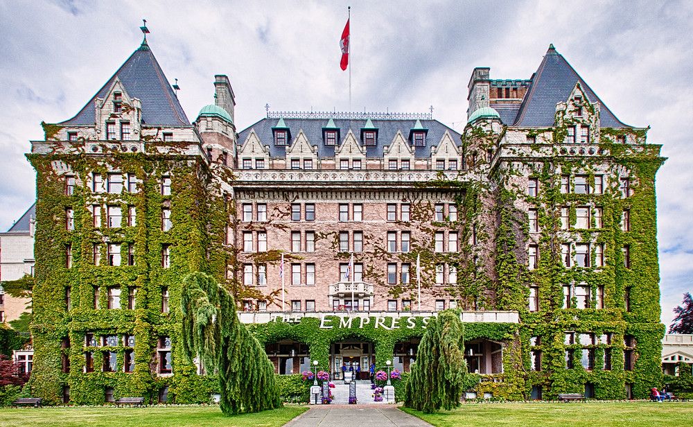 The Empress Hotel Victoria Harbor BC