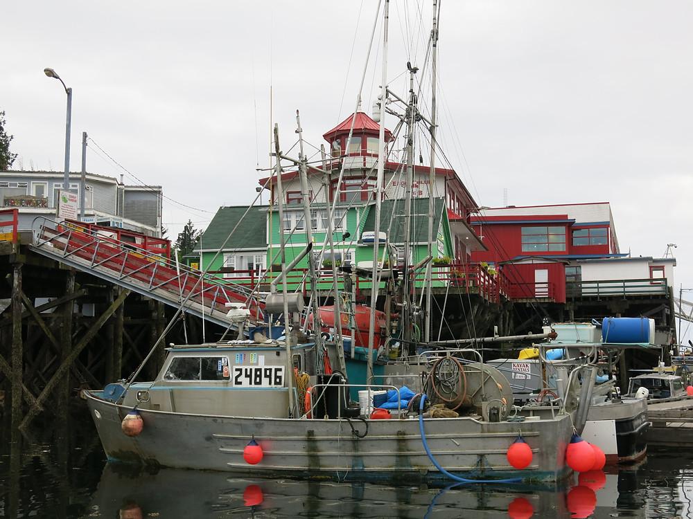 Boat at Prince Rupert Marina