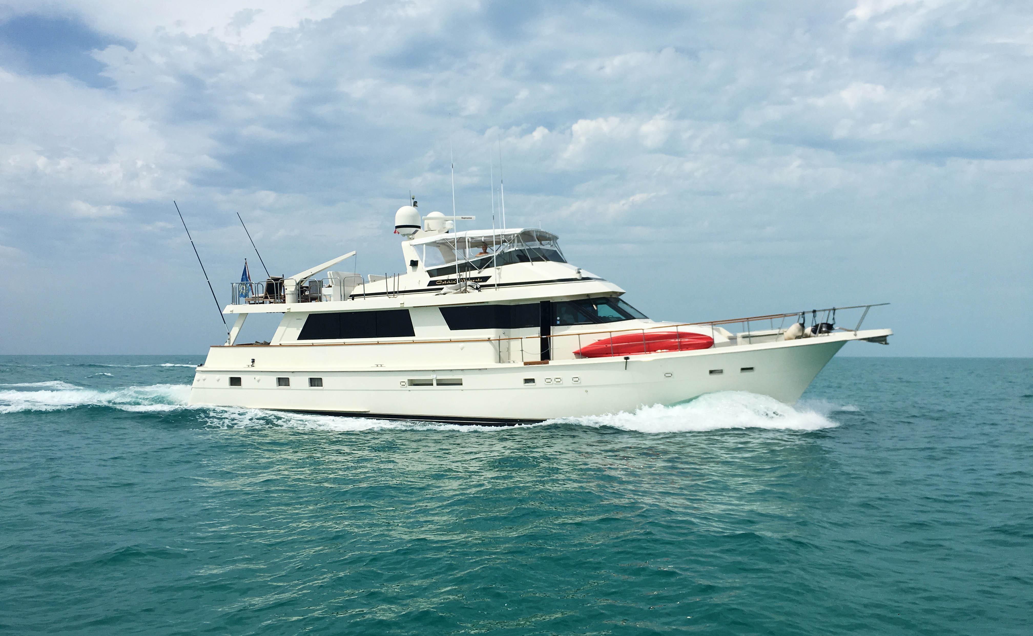 Hatteras Yacht Cruising