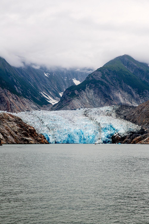 Sawyer glacier in Tracy Arm Fjord