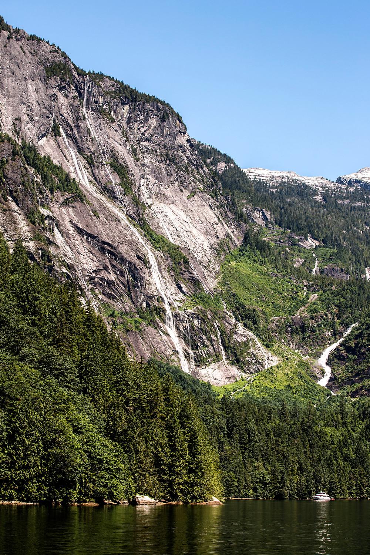 Multiple waterfalls Chatterbox Falls