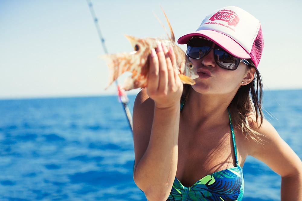 fishing friends hogfish