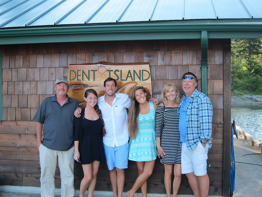 Dent island resort family photo