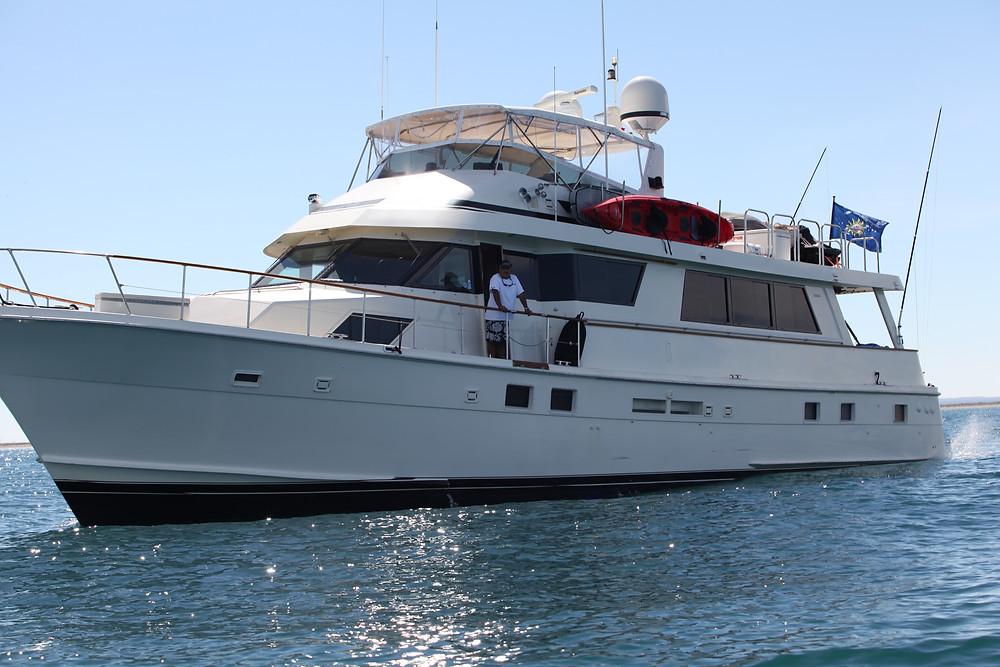 Yacht la Paz Mexico