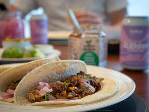 Recipe: Chilli Green Tomato Chutney Pulled Pork Tacos