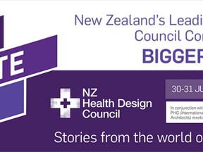 John Cooper at New Zealand's Healt Design Council's Conference