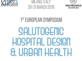 Hrafnhildur Olafsdottir at the European Symposium of Salutogenic Hospital Design & Urban Health