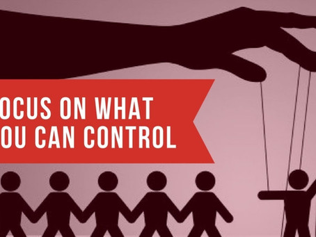 Controlling Our Controllables
