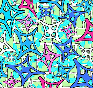 In The Garden Pattern_Teal_Blue_Pink.jpg