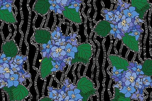 Hydrangea Art Print 8x10