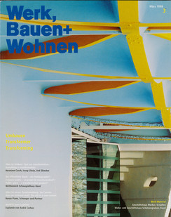 N°3 1998 WERK, BAUEN+WOHNEN