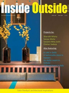 MAY 2009 THE INDIAN DESIGN MAGAZINE