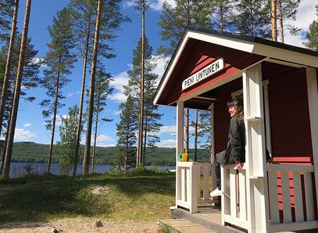 夏の芬蘭  走入姆明的世界