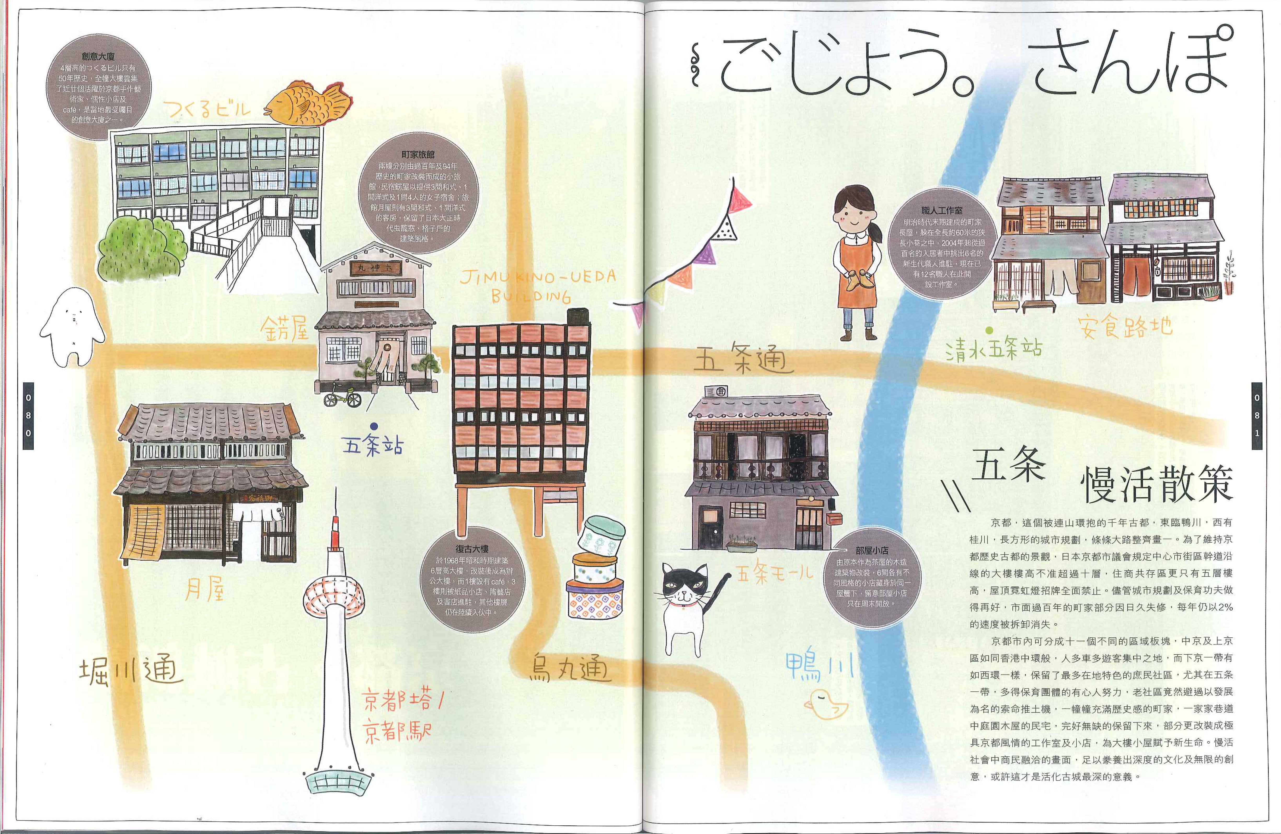 Kyoto Map