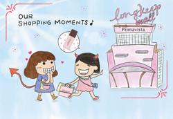 Postcard--Shopping