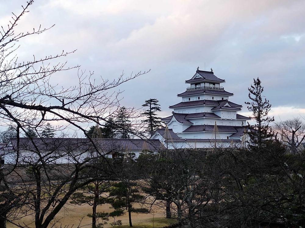 春天的鶴城也是賞櫻的好地方