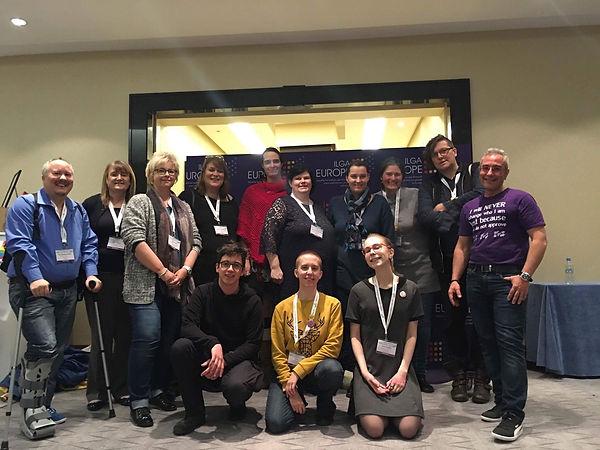 Интерсекс люди на конференции