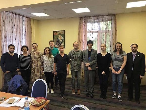 Интерсекс активистка на конференции для враче в Москве, Россия
