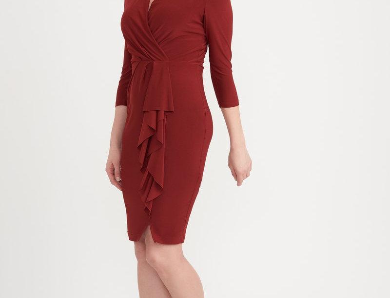 Joseph Ribkoff 203313 Cayenne Dress UK12