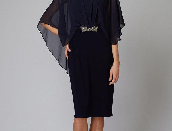Joseph Ribkoff 194208 Midnight Blue Dress UK12