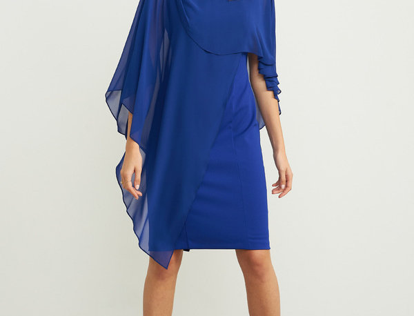 Joseph Ribkoff 203449 Royal Sapphire Dress UK12