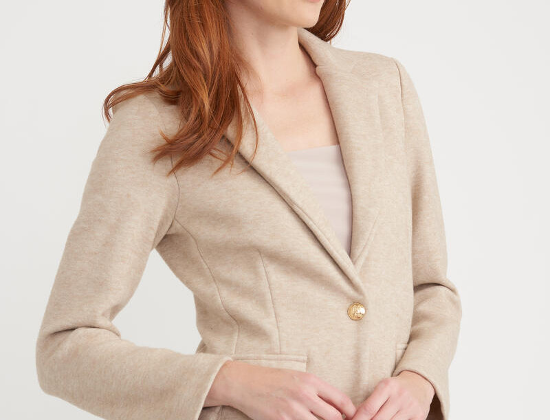 Joseph Ribkoff 203474 Tan Blazer UK12