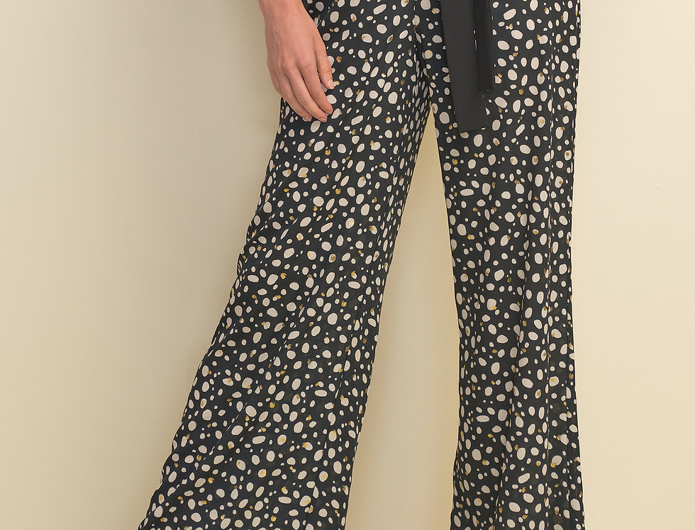 Joseph Ribkoff 211371 Black/Ecru Pant UK10