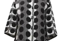 Joseph Ribkoff 211311 Vanilla/Black Jacket UK10