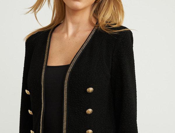 Joseph Ribkoff 203621 Black/Gold Jacket UK12