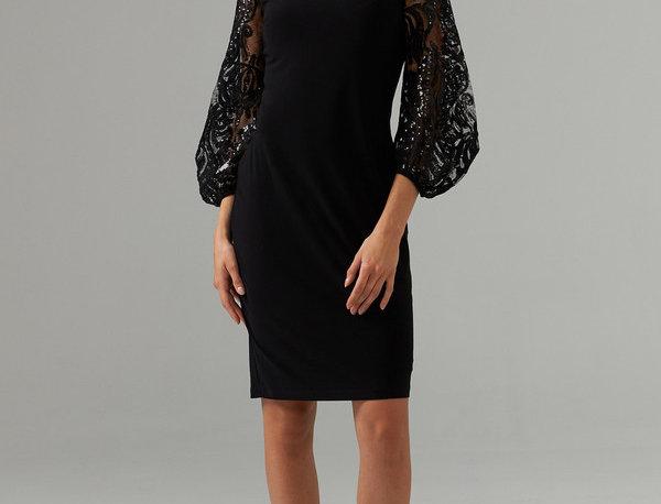 Joseph Ribkoff 203437 Black Dress UK12