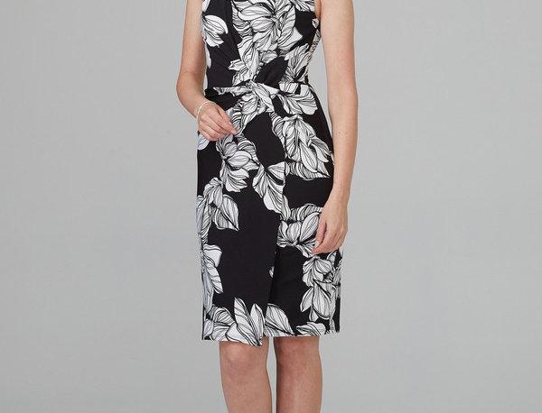 Joseph Ribkoff 201519 Black/White Dress UK10
