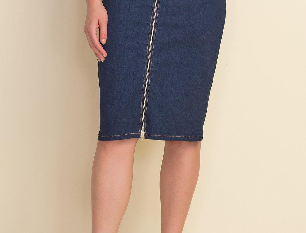 Joseph Ribkoff 212925 Indigo Skirt UK10