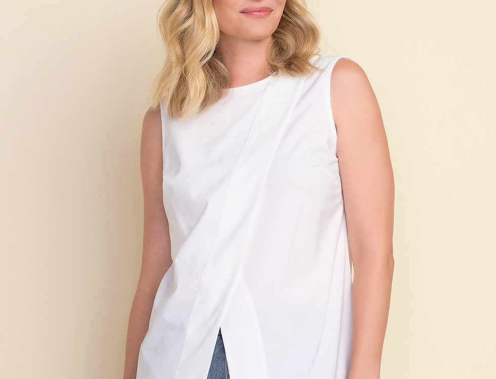 Joseph Ribkoff 212182 White Top UK12