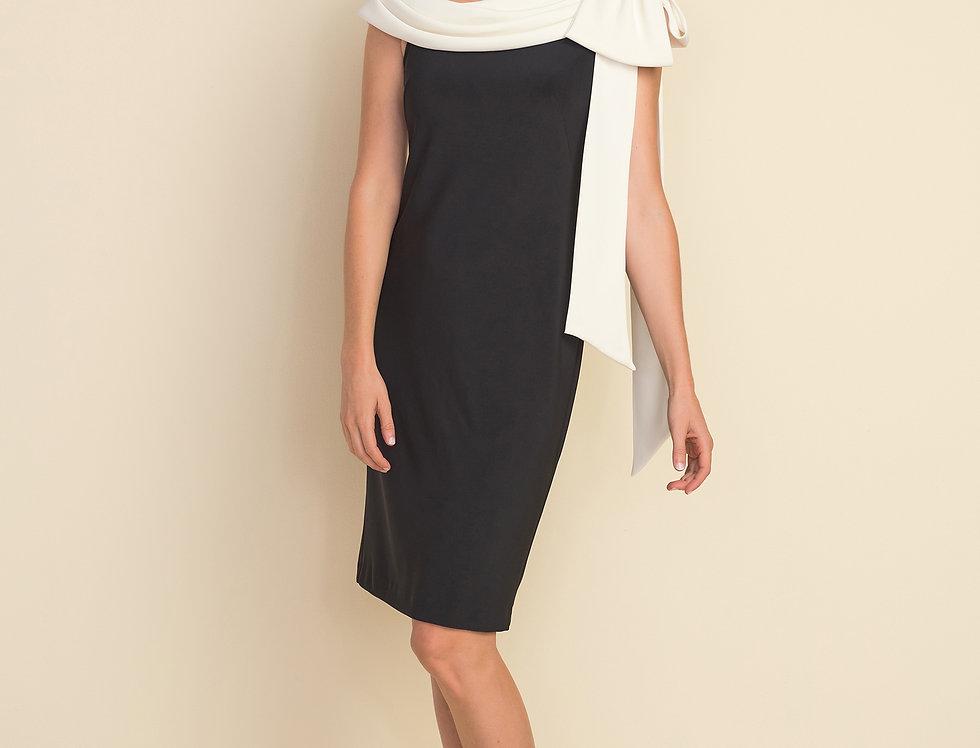 Joseph Ribkoff 212069 Black/Vanilla Dress UK12