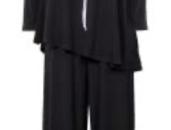 Joseph Ribkoff 211289 Black/White Jumpsuit UK10