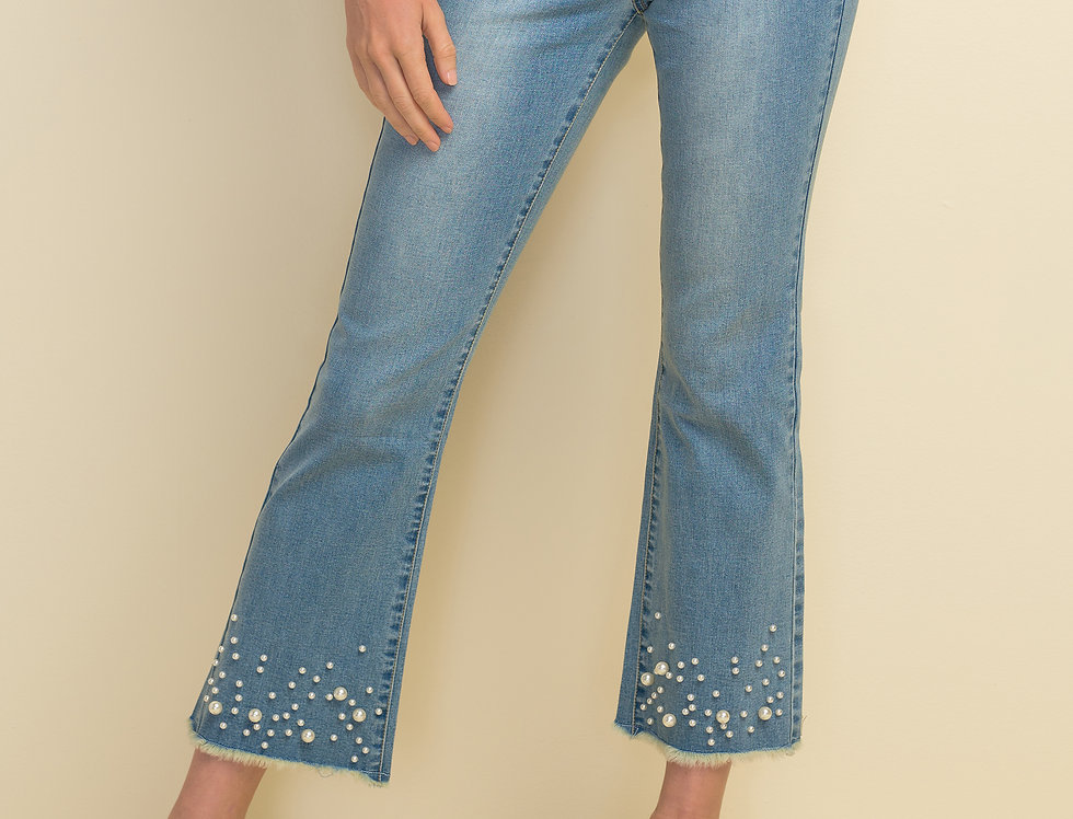 Joseph Ribkoff 211921 Light Blue Denim Jeans UK10
