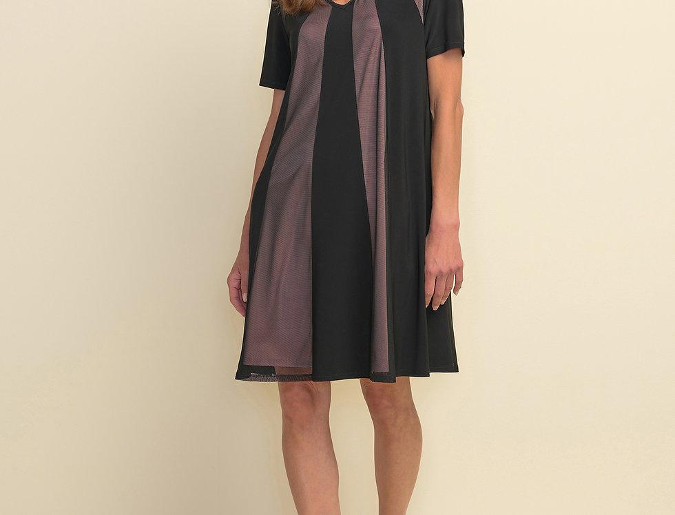 Joseph Ribkoff 211105 Black Dress UK10