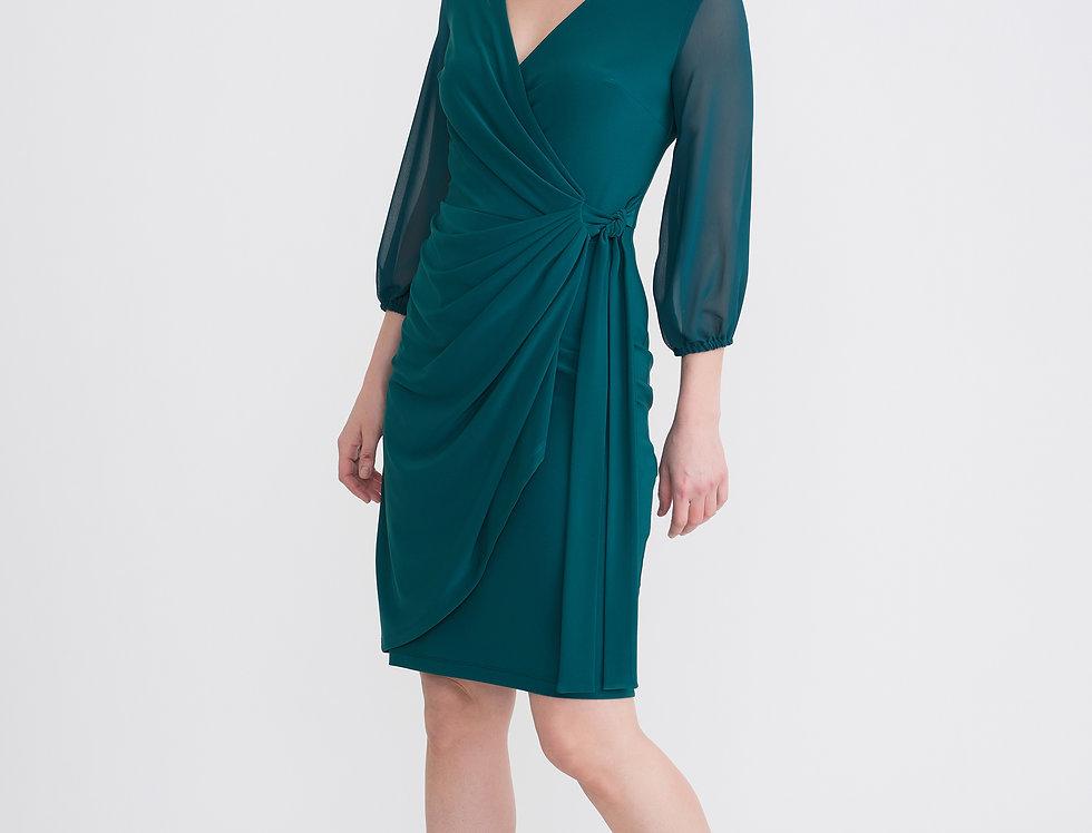 Joseph Ribkoff 204411 Evergreen Wrap Dress UK12