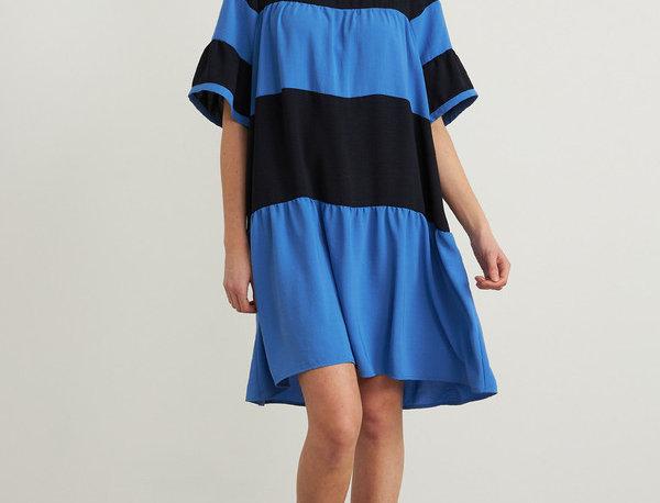 Joseph Ribkoff 212029 Midnight Blue/Multi Dress UK12