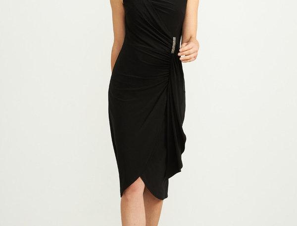 Joseph Ribkoff 204231 Black Dress UK12