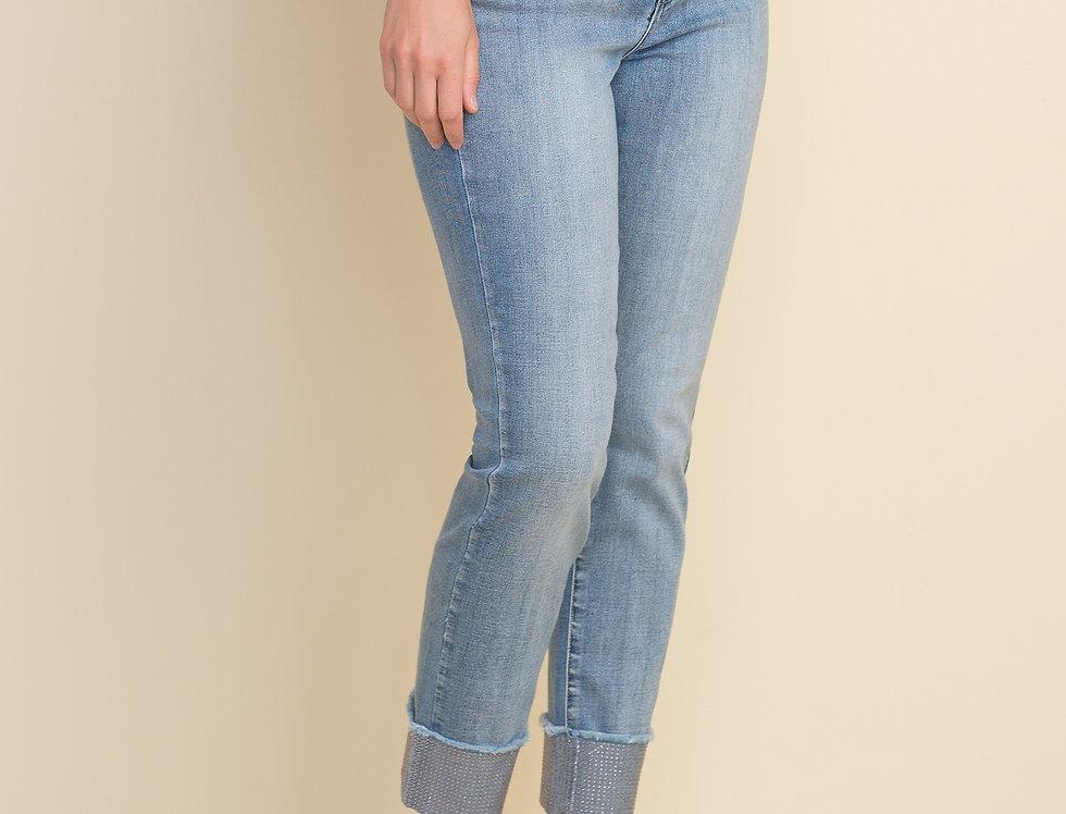 Joseph Ribkoff 212915 Light Denim Blue Jeans UK10