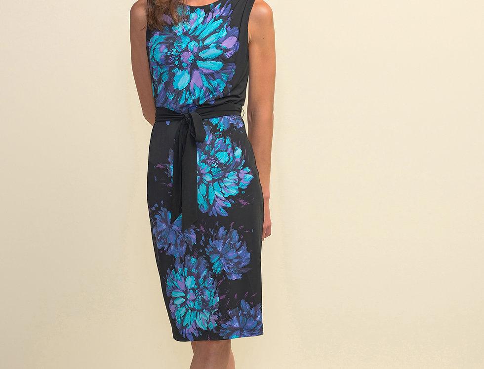 Joseph Ribkoff 211220 Black/Multi Dress UK10